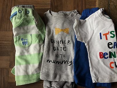 baby boy 0-3 months bundle 3 outfits
