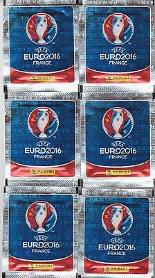 8 paquets 40 stickers UEFA EURO 2016 PANINI image football FOOT