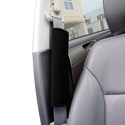 1 Pair Car Safety Seat Belt Shoulder Pads Cover Cushion Harness Pad NEW DA