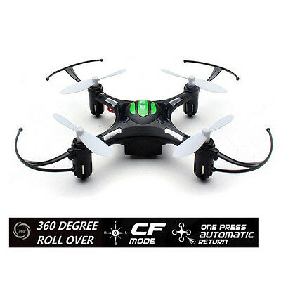 JJRC H8 Mini Headless RC Quadcopter Drone 4CH 6-axis-Gyro RTF 4 LED Helicopter