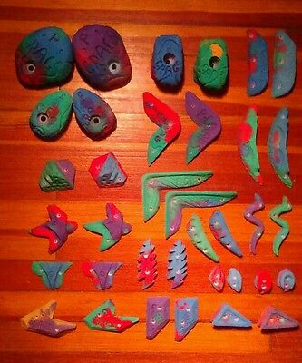 36 piece climbing hold set from P-Crags