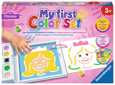 Ravensburger My first Color Set Princess | Kinder Malen | Malset für Mädchen