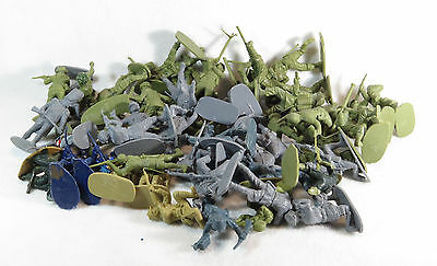 Airfix Plastic Soldiers - Mixed Lot - Approx 57 pieces - 1/32 Scale