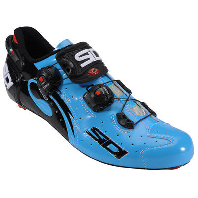 New SIDI WIRE Carbon Road Bike Cycling Shoes Chris Froome Blue Sky Black EU38-44