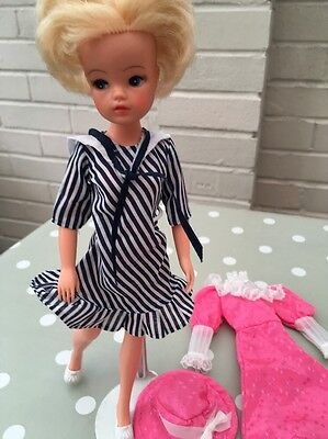 Vintage 1980s Sindy Doll Short Hair Diana In My Fair Lady + Outfit
