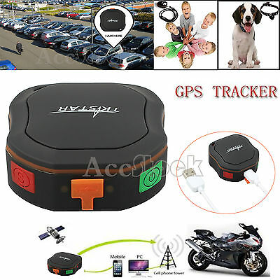 Personal GPRS/GSM Realtime Car GPS Tracker Vehicle Spy Tracking Device Locator
