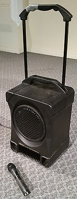 Mipro ma-707 100 watt portable pa amplifier with cordless microphone