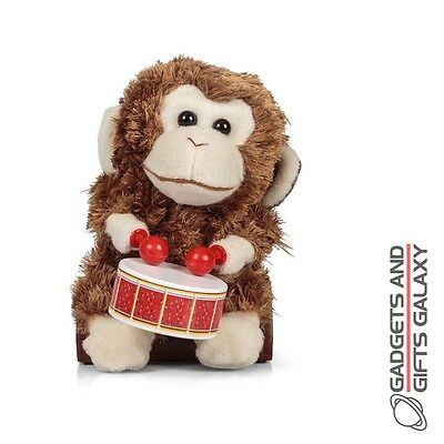 MOVING DRUMMING CHATTING MONKEY CLASSIC Toys gifts games & gadgets