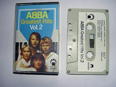 Abba - Greatest Hits Vol. 2 - Music Cassette