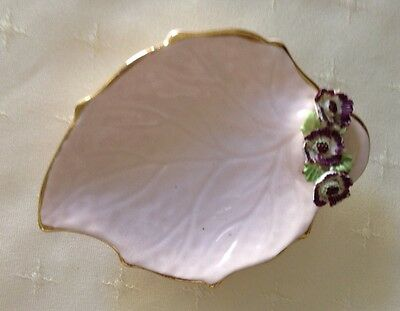Adderley Small Pink Floral Dish
