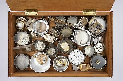 Swiss Movement And Wristwatch Parts, Lever & Pin Pallet Spares & Repairs R141