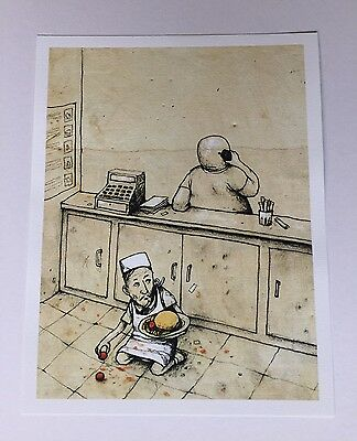Dran Fast Food Official Limited Edition Print Paris Pop Up