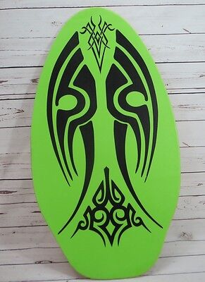 """Rubber Top Wooden Skimboard With Slip Free Grip 36"""""""