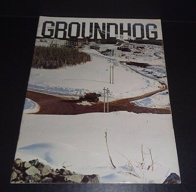 Marion Power Shovel The Groundhog Magazine Vol 70  No. 1 8000 Dragline