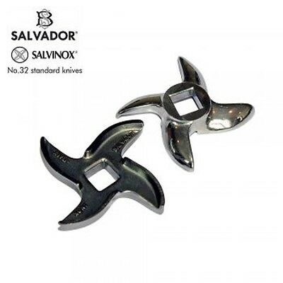 Salvador No 32 Stainless Steel Mincer Knife /Blade for Meat Mincer 88mm Width