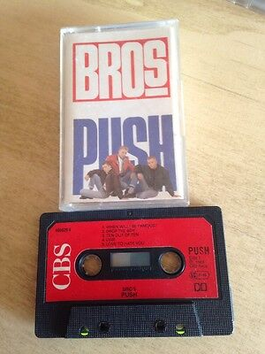 Bros Push MC cassetta tape