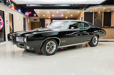 1969 Pontiac GTO  Frame Off Restored! #s Matching 400ci V8, TH400 Automatic, PS, PB, Documented!