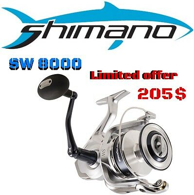 Shimano Off Shore Spinning Reel Saragosa Sw 8000