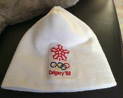 CALGARY Winter Olympics 1988 SKI HAT.