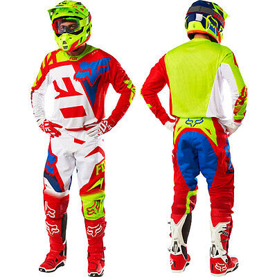 Motocross MX Enduro Kit Jersey & Pants / Maglia e Pantaloni FOX Racing 360 Shiv
