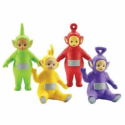 """Teletubbies 4 Figure Family Pack Toy 3"""" Action Figures"""