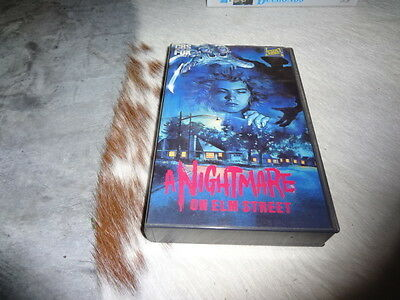 A Nightmare on Elm Street - Vhs - Wes Craven
