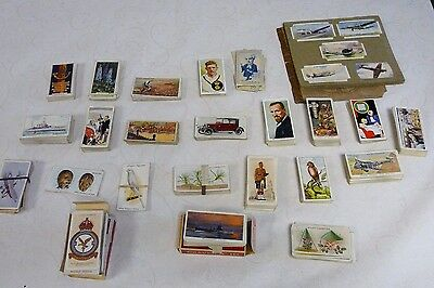 JOB LOT CIGARETTE CARDS:PLAYERS,WILLS,GALLAHER ,MARS,CHURCHMAN,CARRERAS. 1930s