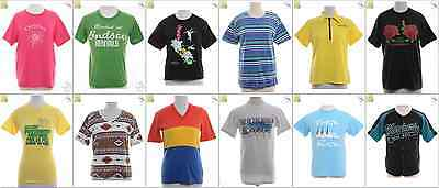JOB LOT OF 43 VINTAGE T-SHIRTS- Mix of Era's, styles and sizes (18942)*