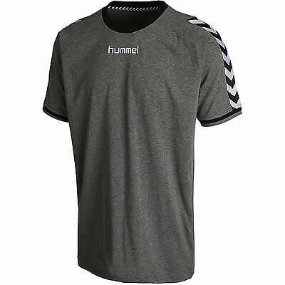 Hummel T-Shirt Stay Authentic Shirt Herren [Grau]