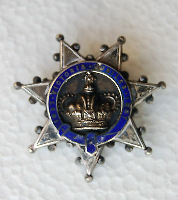 A very nice Queen Victoria Diamond Jubilee commorative star brooch