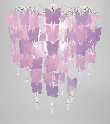 Butterfly and Crystal Chandelier