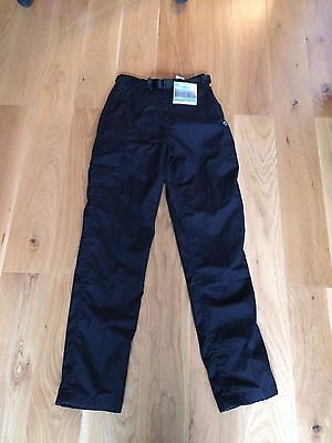 Bnwt Craghoppers Winter Lined Trousers - Black - Size 8L