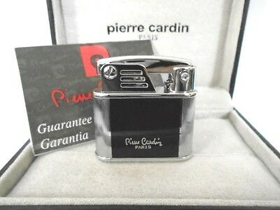 Pierre Cardin luxury soft flame automatic ignition flint lighter with gift box