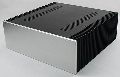 ST0068 Full aluminum amplifier enclosure  class A chassis/AMP box