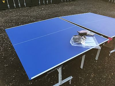 NEW Butterfly Easifold Rollaway Indoor Table Tennis Table Blue