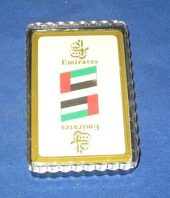 Early Emirates Airline Promotional Playing Cards