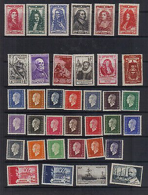 France 1942-48 Unmounted mint collection