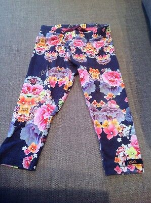 Girls Ted Baker Floral Leggings 12-18M