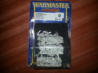 WARMASTER ** ORC & GOBLINS WARRIORS (NEW BLISTER) ** Specialist Games #5