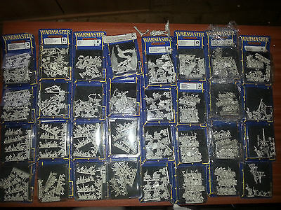 WARMASTER * HUGE ORC & GOBLIN ARMY (mostly new) * Unpainted Specialist Games #2