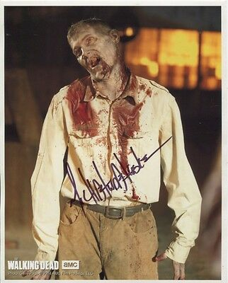 Michael Koske In Person Signed Photo - B607 - The Walking Dead