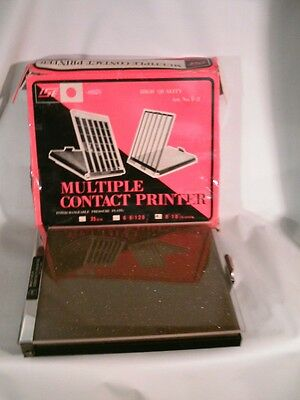 ISE Multiple Contact Proof-Printer For 8 X 10 to 35MM Negatives