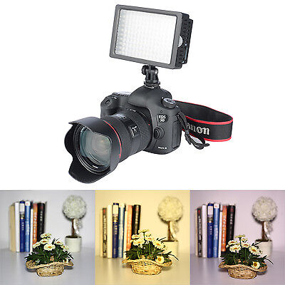 160 LED Dimmable Camera Video DSLR Light Ultra High Power Panel For Canon Nikon