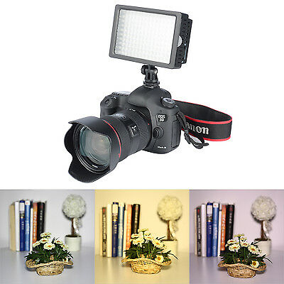 Dimmable Ultra High Power Panel Digital Camera Video Light For Canon Nikon Sony