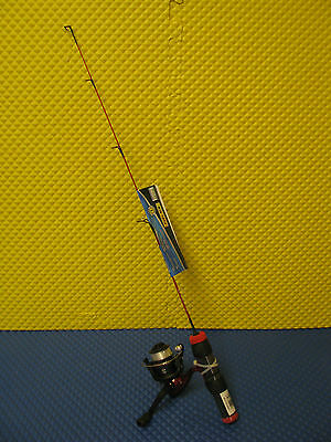 "Shakespeare Fuel Ice 27"" Light Spinning Rod And Reel Combo #fuel27L"