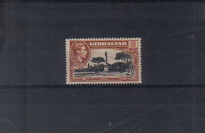 Gibraltar George VI 1938-51 2/- (perf 13.5) very lightly mounted mint