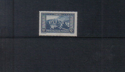 Monaco 1933-39 10f lightly mounted mint