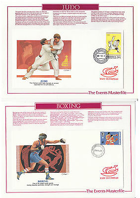 1988 Olympic Games Judo & Boxingt (Covers)
