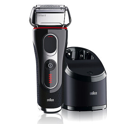 Braun 5090CC Series 5 Self-Cleaning Cord-Cordless Shaver