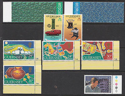 Guernsey. Selection of Stamps  (um)